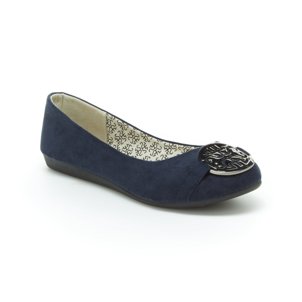 Anabel | Navy Suede