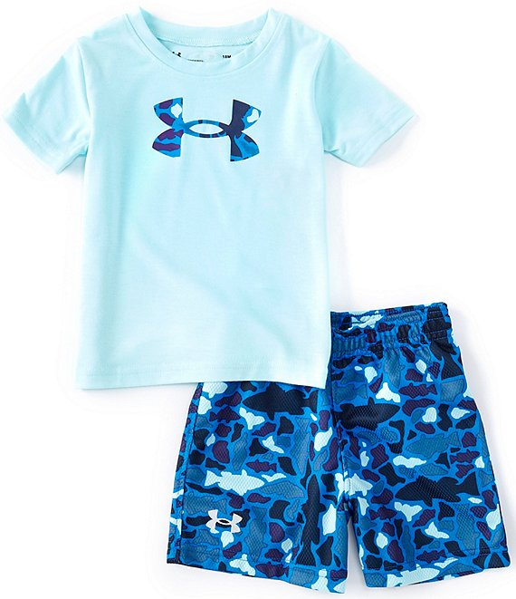 UA Fish Camo Logo Set