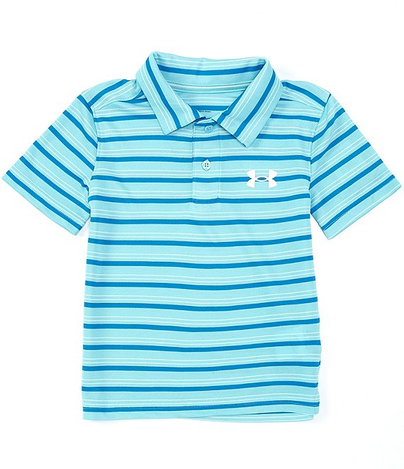 UA Match Play Stripe Polo Shirt