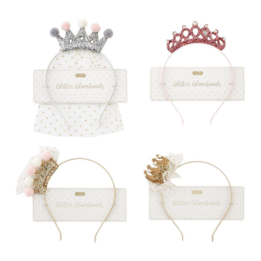 Mud Pie Princess Tiara Glamband