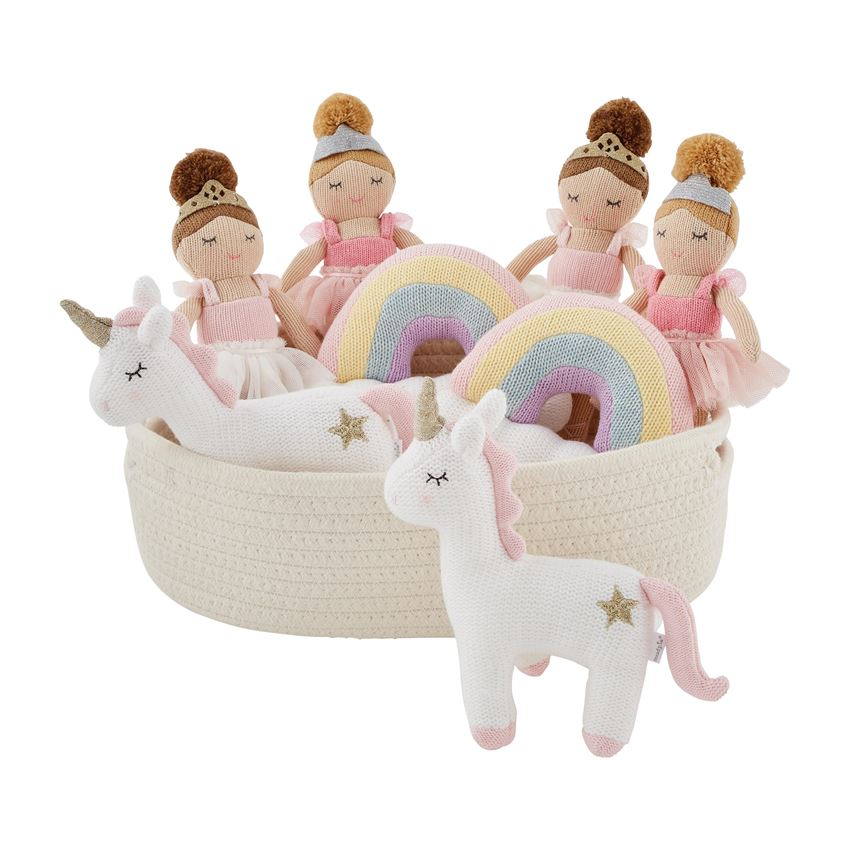 Mud Pie Princess Rattle