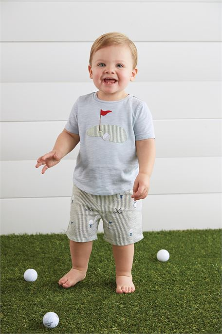Mud Pie Golf Short Set
