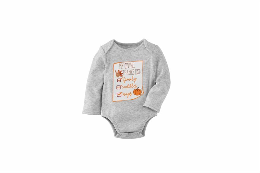 Mud Pie Thanksgiving Crawler 0-6m
