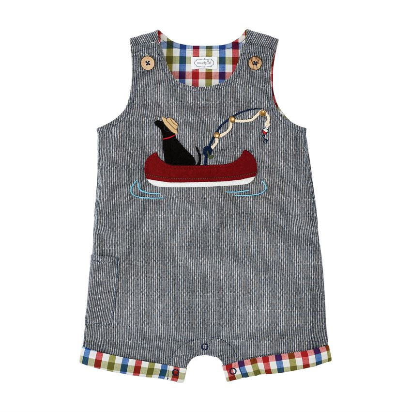 Mud Pie Dog Boat Shortall