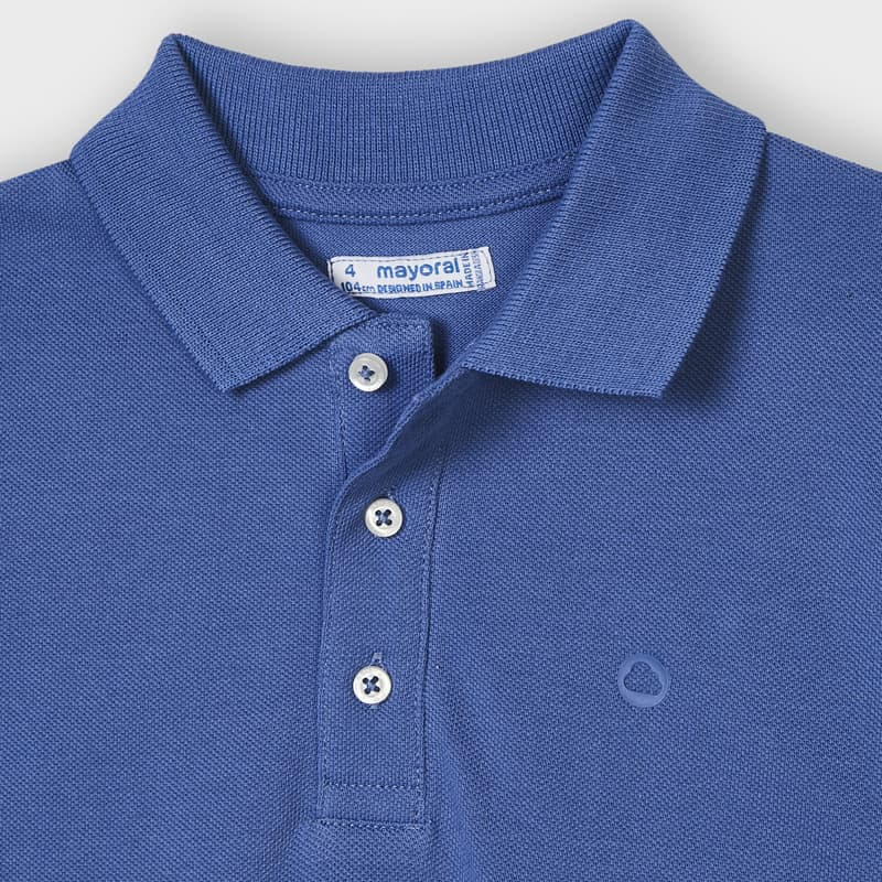Mayoral Cotton Polo T Dk Blue