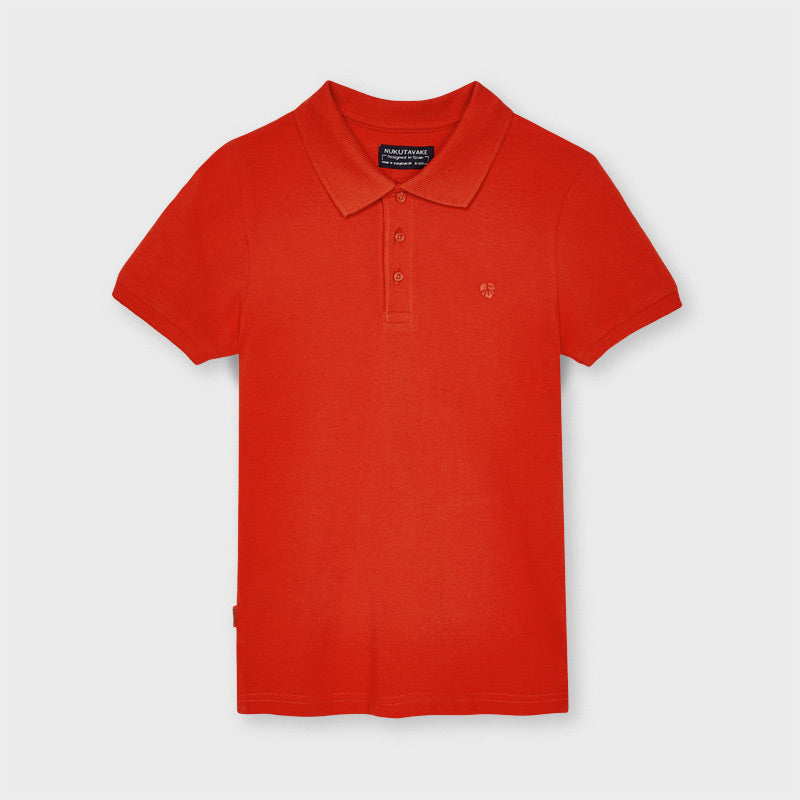 Mayoral Cotton Polo Red
