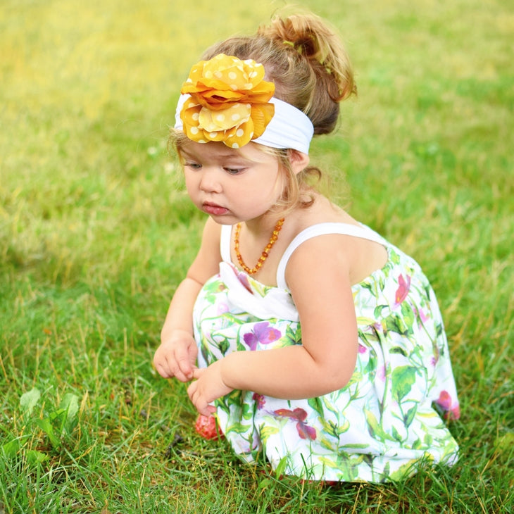 Secret Garden Floral Dress & Bloomers
