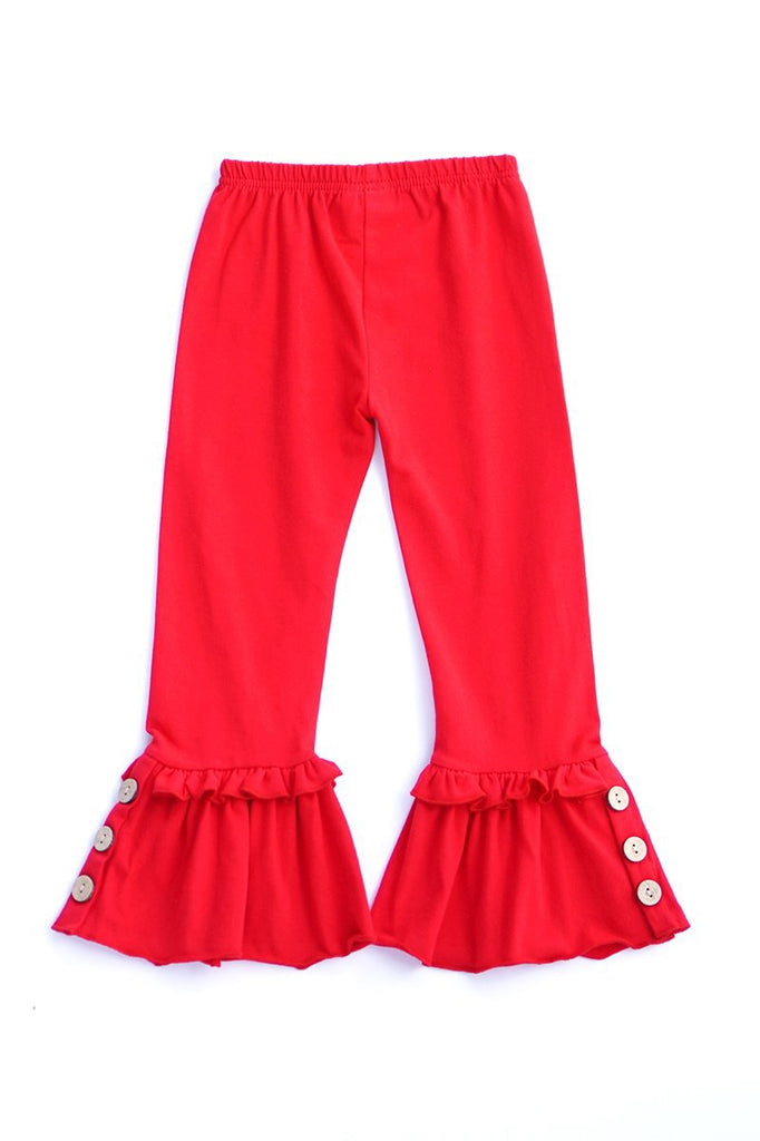 Ruffle Button Pants