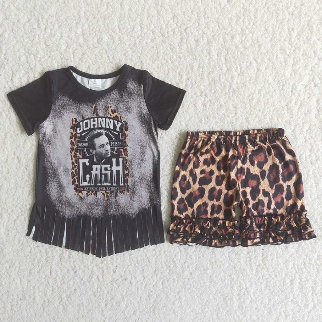 Johnny Cash Leopard 2 Piece