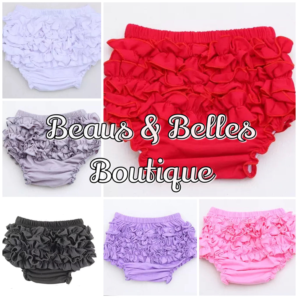 Icing Ruffle Bloomers