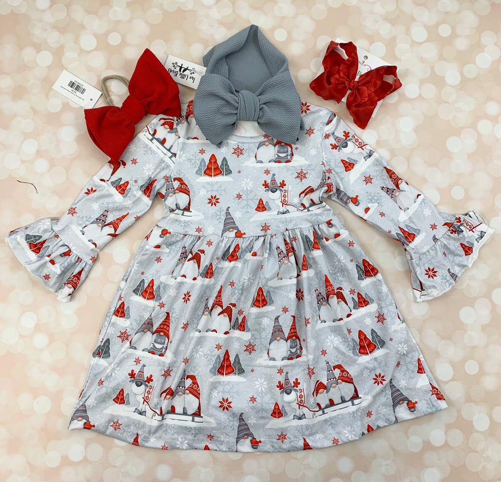 Gnome Ruffle Dress