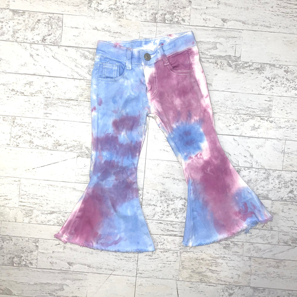 Tie Dye Lightweight Denim Pants
