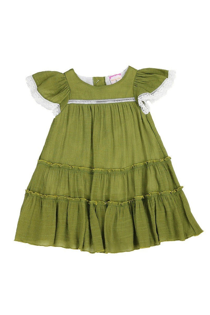 Double Ruffle Baby Doll Dress