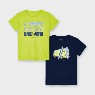 "Mayoral Set of 2 t-shirts ""Rain"""