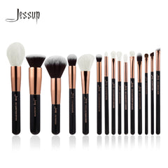 Set of Professional Makeup Brushes 2018