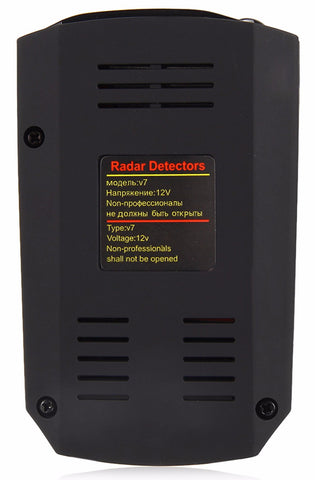 Radar Laser Detector 360 Degree With Voice Alert Warning