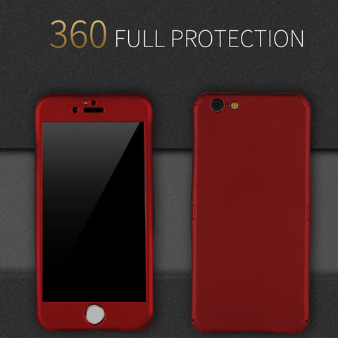 Full Body Protection Phone Case iPhone 7 6 6S