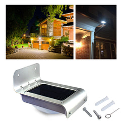 LED Waterproof Solar Lamp Power Motion Sensor Outdoors