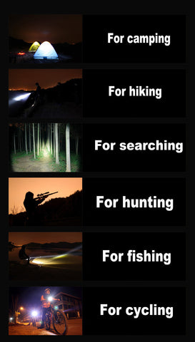 LED Flashlight Tactical 8000 L Torch Flashlight For Camping