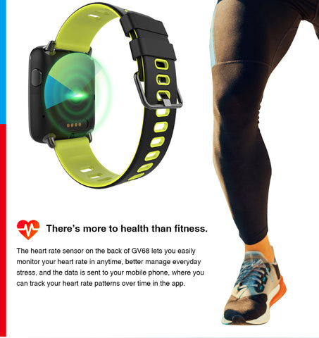 NEW ! Waterproof Smart Watch with  Fitness Tracker - Message - Call - Reminder
