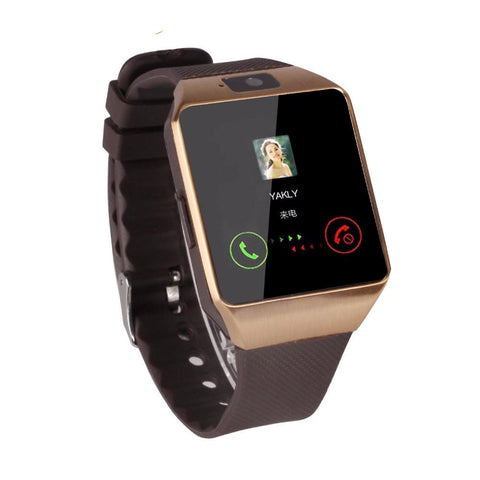 Cool Smart Watch with Bluetooth - Rose Gold