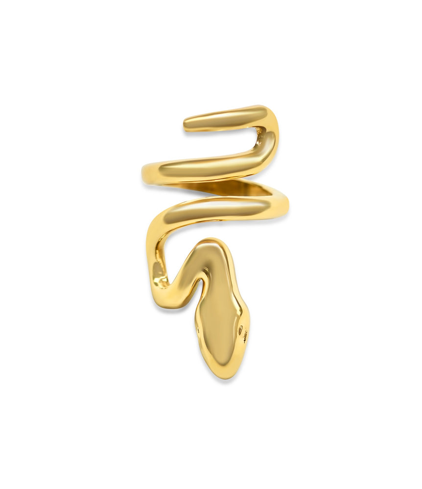 Load image into Gallery viewer, Snake Goddess Ring