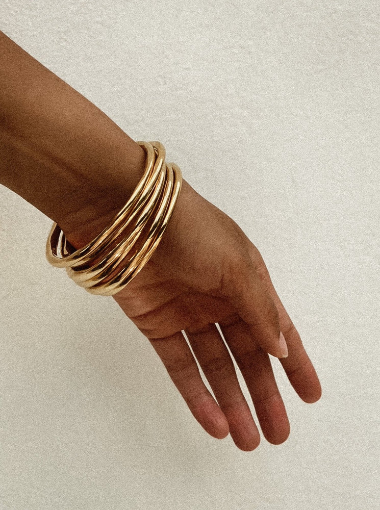 Load image into Gallery viewer, Gold Bangles
