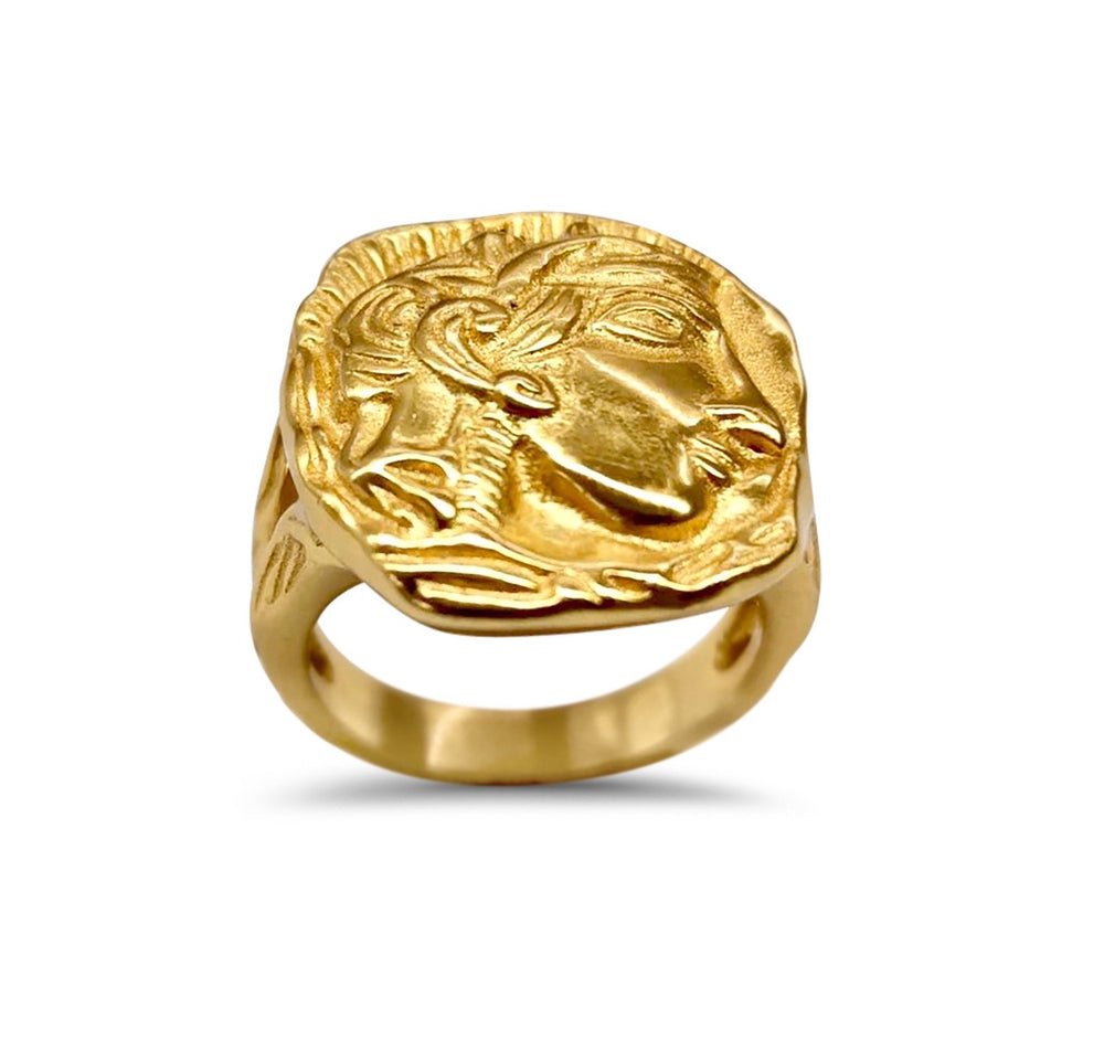 Chunky Gold Ring