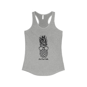 The Pineapple Life Women's Racer Back Tank by Just Cool Folks Shop Today