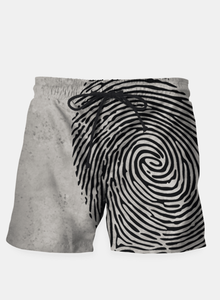 My Cool Fingerprint Swim Shorts at Just Cool Folks Shop Today #justcoolfolks justcoolfolks.com