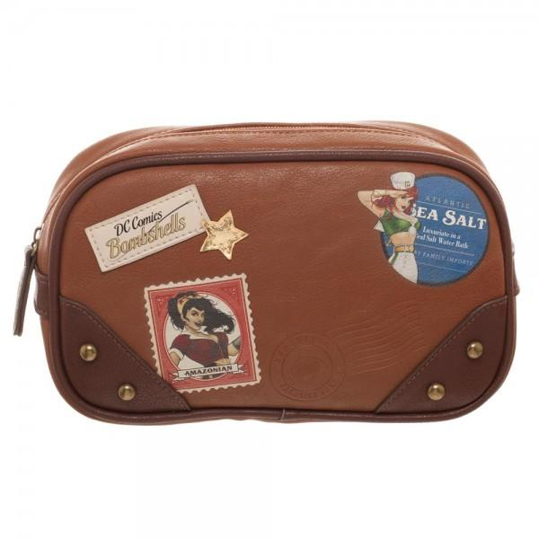 Wonder Woman Bombshell Makeup Bag