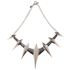 Black Panther Spike Cosplay Necklace