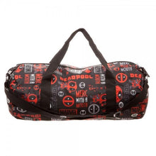 Marvel Deadpool Packable Duffle Bag