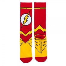 DC Comics Flash Suit Up Crew Socks