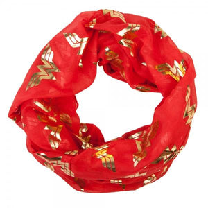 Wonder Woman Foil Viscose Scarf