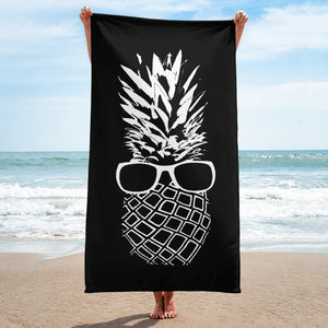 The Pineapple Life Just Cool Folks Beach Towel 11 Shop Today