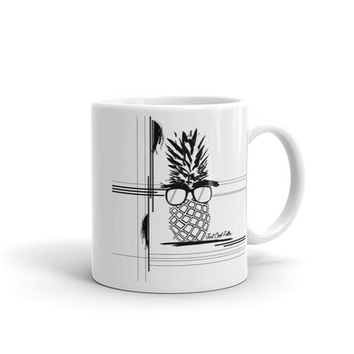 The Pineapple Life Coffee Mug 11 by Just Cool Folks Shop Today