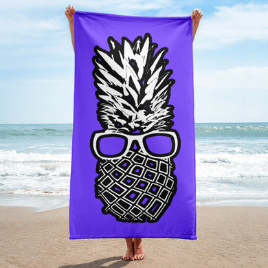 The Pineapple Life Just Cool Folks Beach Towel 13 Shop Today