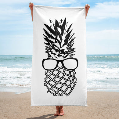 The Pineapple Life Just Cool Folks Beach Towel 12 Shop Today