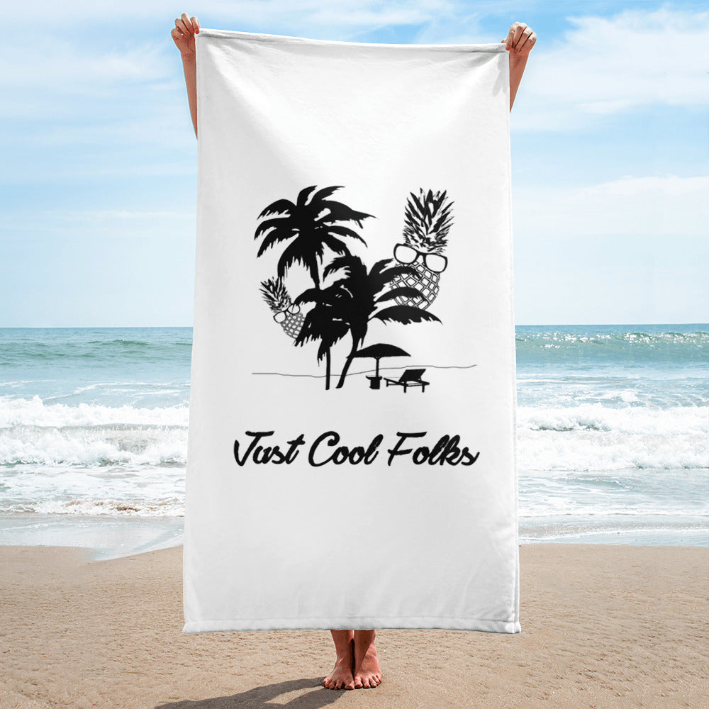 cool beach towels. The Pineapple Life Just Cool Folks Beach Towel Shop Today Folks.com. \ Towels