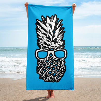 The Pineapple Life Just Cool Folks Beach Towel 6 Shop Today