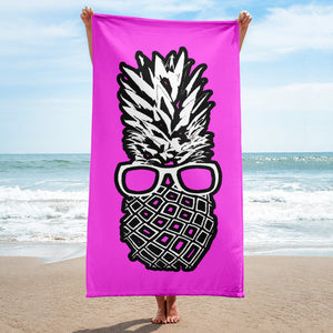 The Pineapple Life Just Cool Folks Beach Towel 7 Shop Today