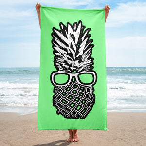 The Pineapple Life Just Cool Folks Beach Towel 8 Shop Today
