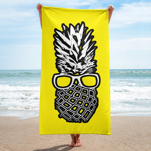 The Pineapple Life Just Cool Folks Beach Towel Shop today
