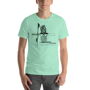 The Pineapple Life Abstract Edition Unisex T-Shirt by Just Cool Folks Many Colors Shop Today