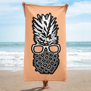 The Pineapple Life Just Cool Folks Beach Towel 10 Shop Today