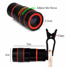 Optical Cell Phone/Tablet Telescopic 8x Zoom Lens