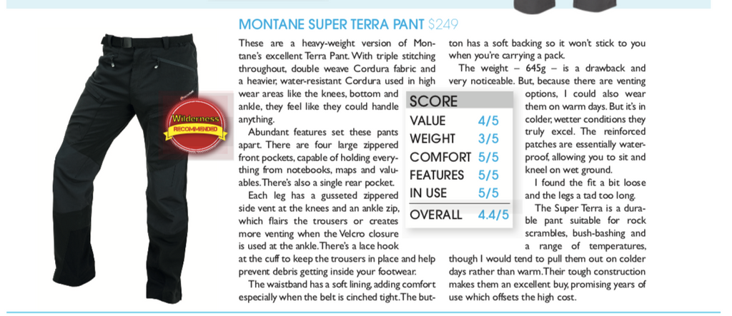 terra pant review wilderness mag