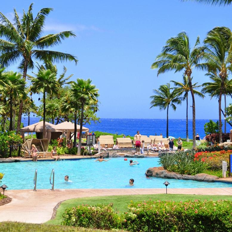 Kaanapali Beach Hotel Pool