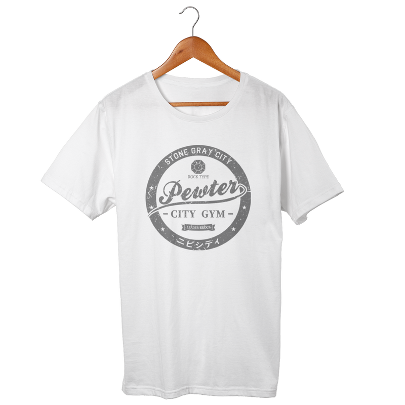 Pewter City Gym White Shirt